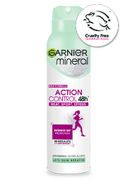 antyperspirant garnier action control spray